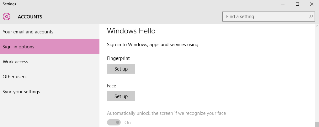 Having problems setting up Windows Hello? – Tobii Eye Tracking Support